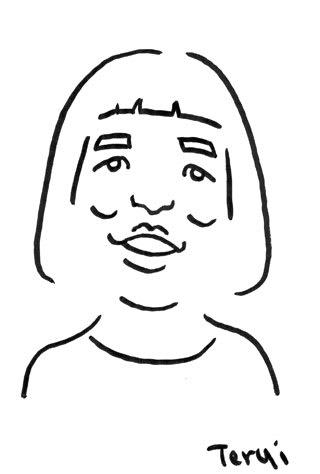 ゆりやんレトリィバァの似顔絵