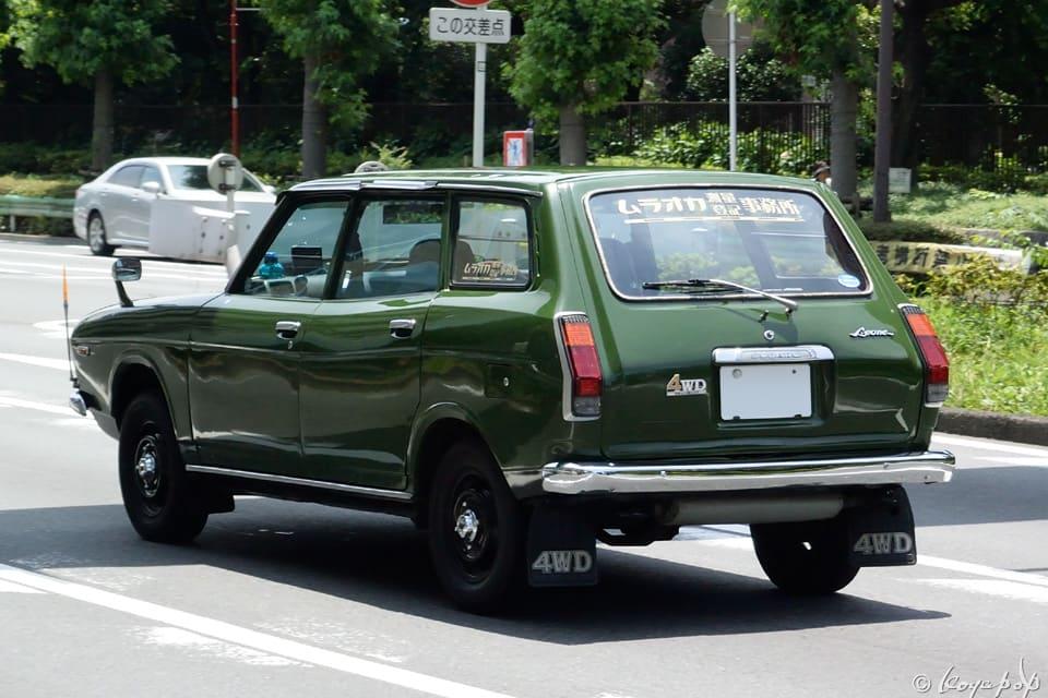 Subaru Leone Estate Van 1972- 初代のスバル レオーネ エステート バン ...
