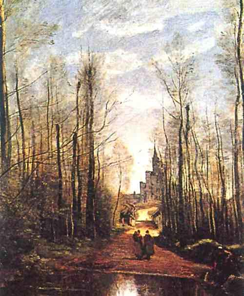 コロー:マルセーユの教会