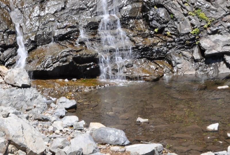 十二滝の滝壷