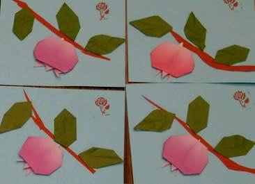 ハート 折り紙:10月の折り紙-blog.goo.ne.jp