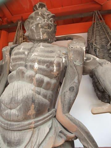 昆陽寺 仁王像