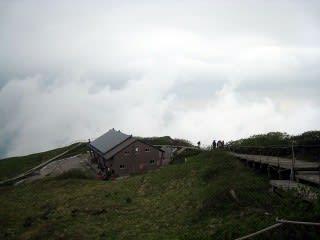 頂上避難小屋