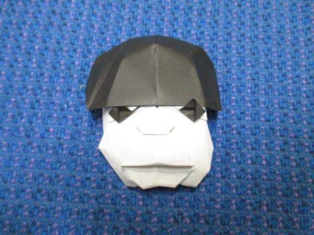 すべての折り紙 折り紙 箸袋 鶴 : 似顔絵折り紙 日村勇記さん ...