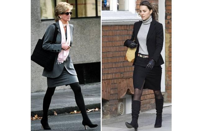 Kate and Diana Similarities