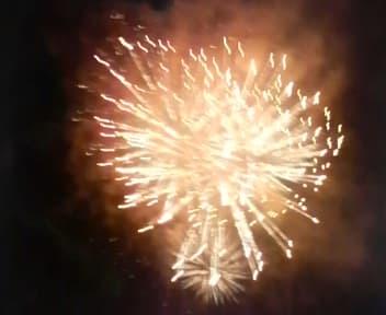 矢ヶ崎公園の花火