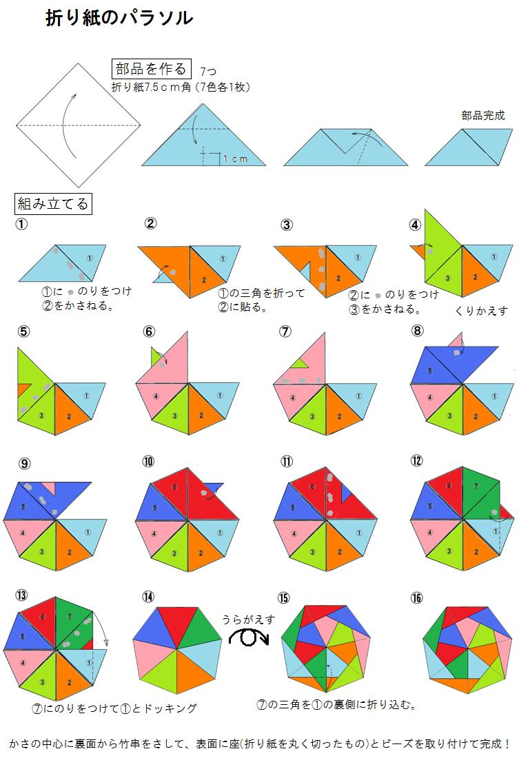 すべての折り紙 こま 折り紙 作り方 : ランキングに参加中。クリック ...