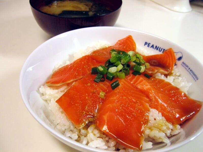 09月11日 鮭丼