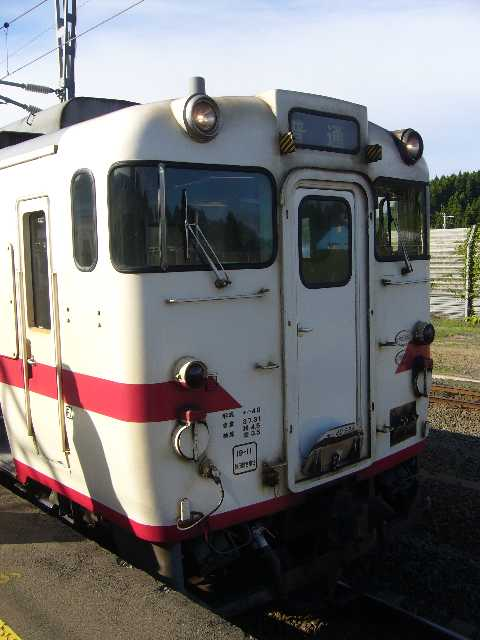キハ40系@蟹田駅