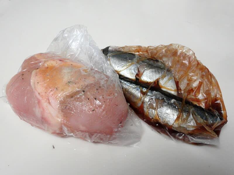 03月24日 鶏むね肉とサンマ