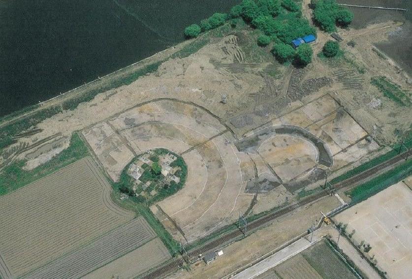 発掘時の星塚古墳