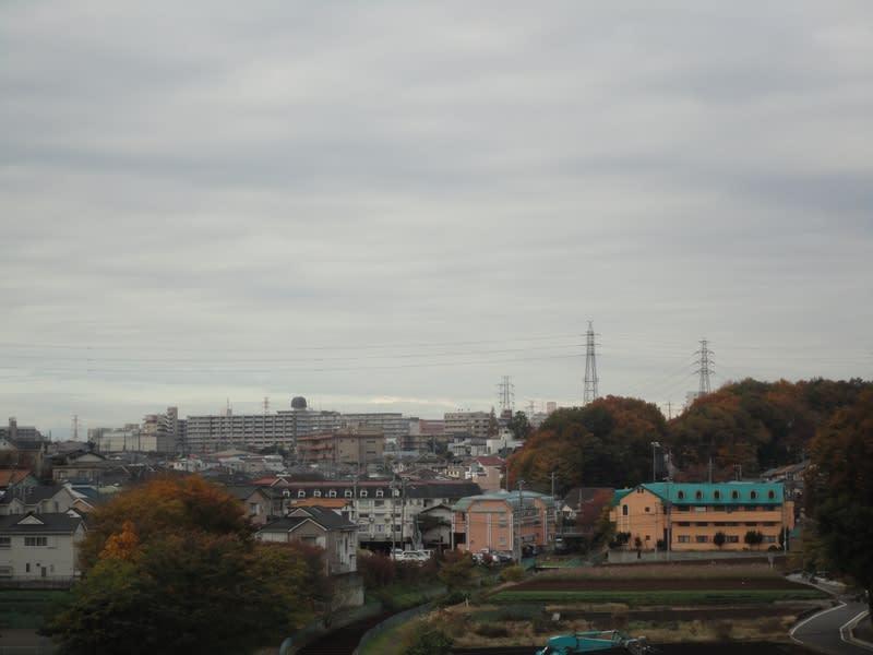 11月24日 朝の雲