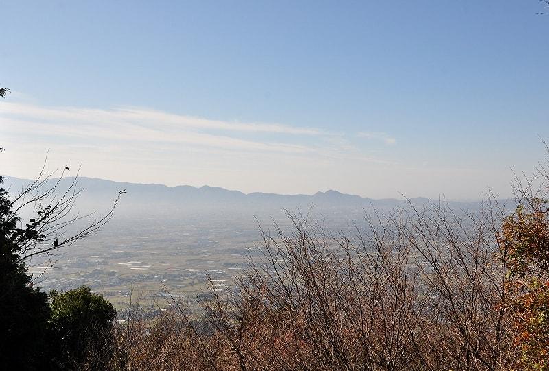 竜王山城跡【北城】眺望