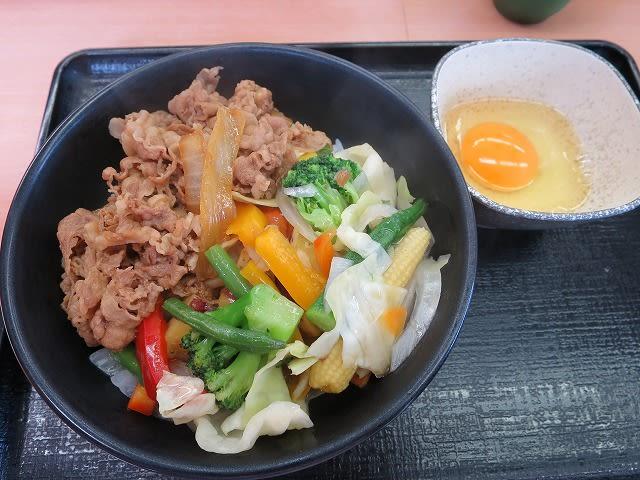 ベジ牛+生玉子
