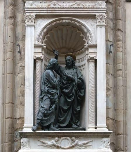 イタリア旅行No.16 フィレンツェ、「オルサンミケーレ教会」の守護聖人像 - 昔に出会う旅 ブ