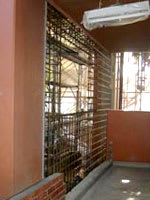 耐震補強壁の鉄筋組