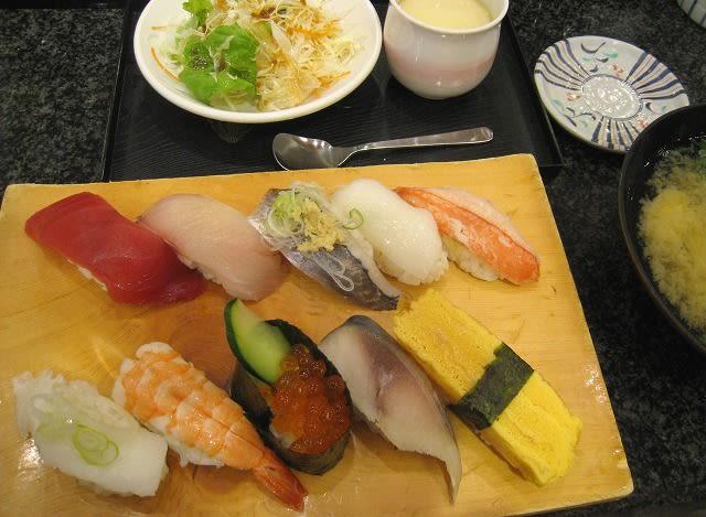 得にぎり寿司