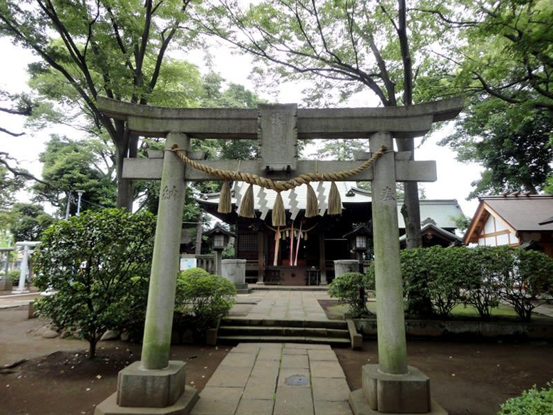 06月20日 氷川神社鳥居