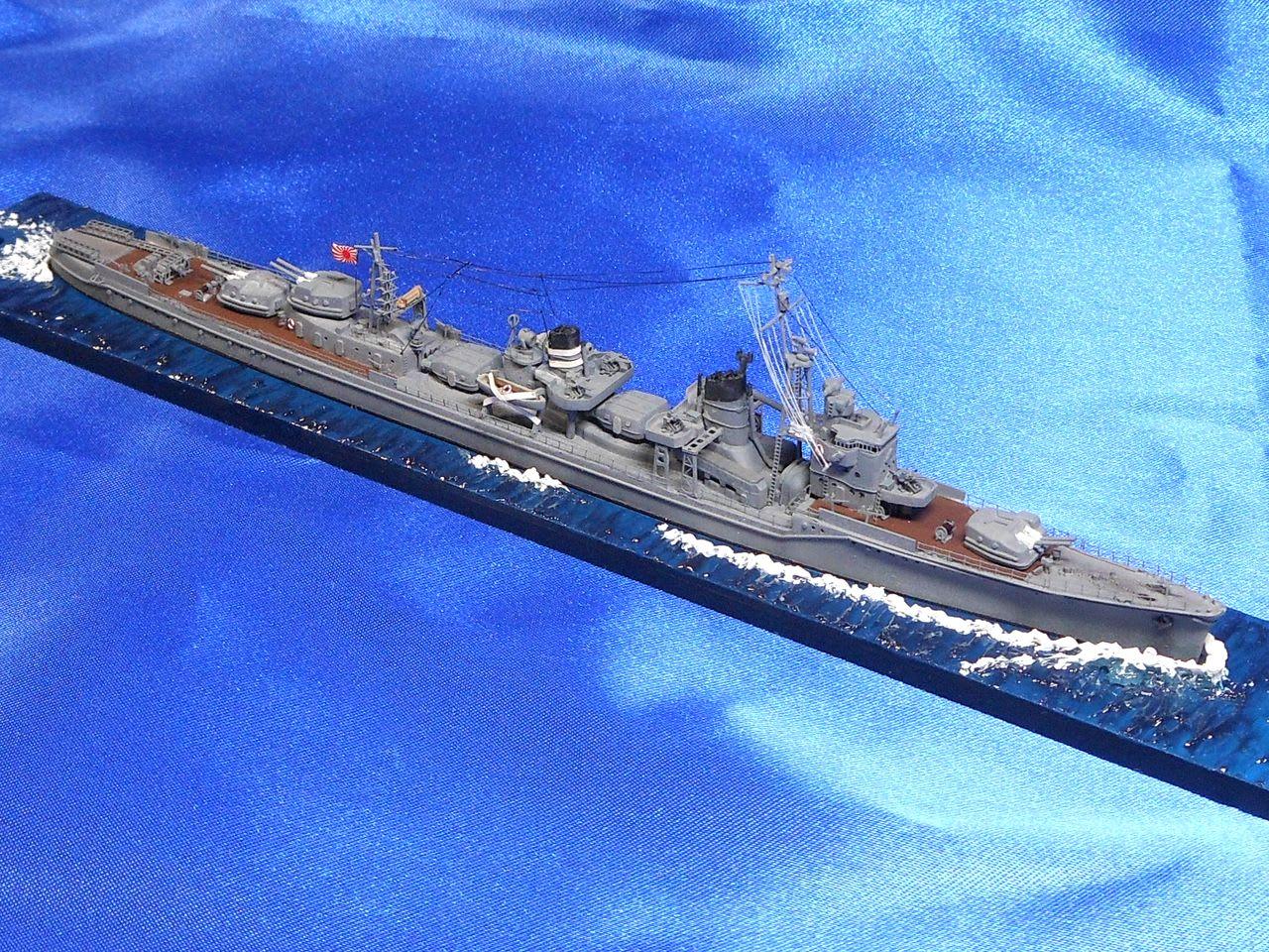 ●実艦について夕雲型16番艦。1943年11月竣工。竣工時から対空兵装...