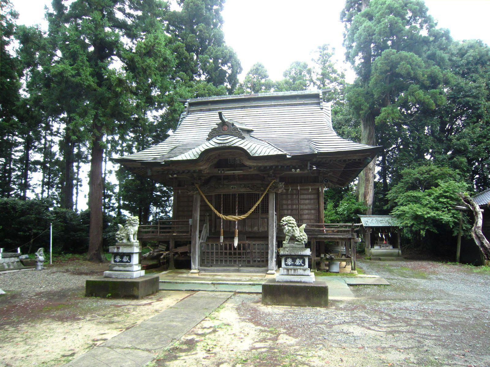 福島・多珂神社(南相馬市)。 -...