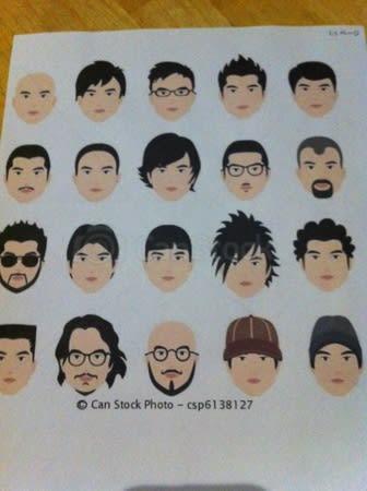 手話サークル ゲーム 「髪型注文」