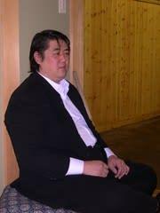元横綱北尾光司氏、立浪部屋に現れる - 相撲太郎