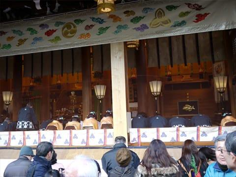 西宮神社 献湯式