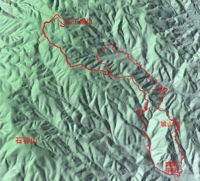 九千部山には魅力的なルートがまだ在りました - ときめき ...