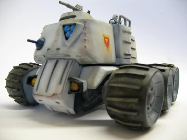 治安警察ガーシム装甲車です 治安警察の主力兵器で、また象徴的な装甲車です... ガーシム装甲車