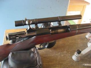 私の村田銃は初期の軍用銃を改造 村田銃を撃ちに行きました。 - 半谷範一
