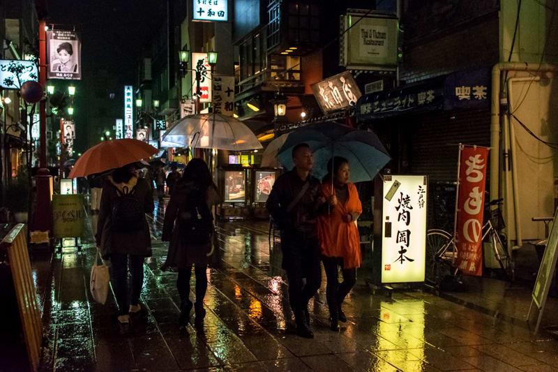 自転車の 浅草 自転車 : 雨濡れの浅草 - 自転車親父の ...