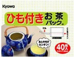 協和紙工業(株)ひも付きお茶パック