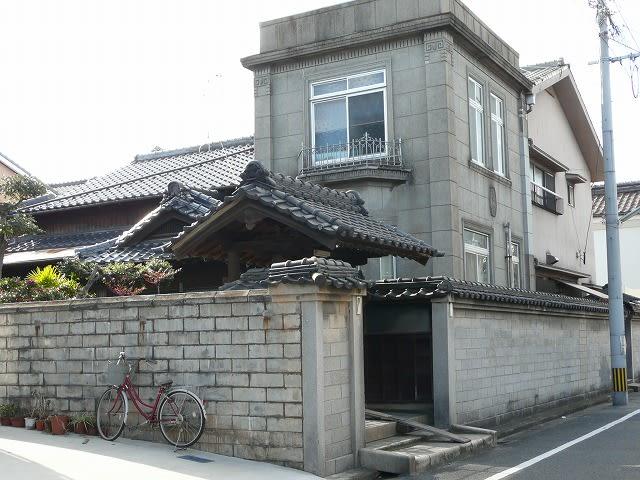 若松の洋館付き住宅…北九州市若松区 - 街の風景