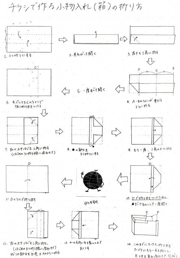 ハート 折り紙:新聞紙 ゴミ箱 折り方 簡単-hagifood.com