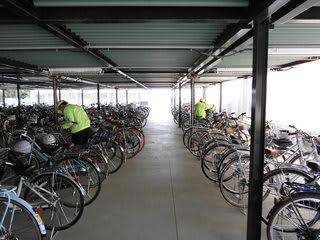 MAME君の日記 : 中学校自転車安全無料点検