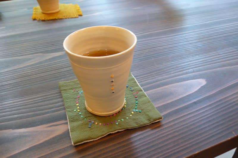 もえぎさんお茶