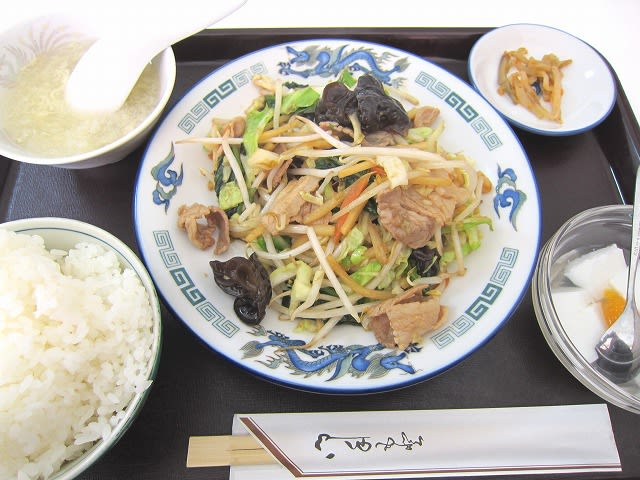 豚肉と野菜炒め定食