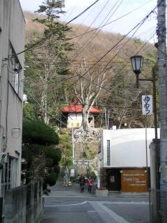 湯谷神社遠景
