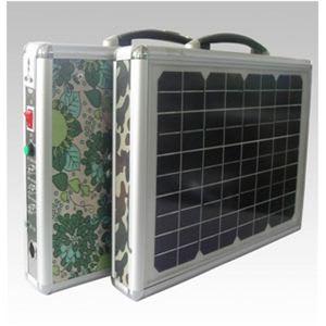 ソーラー式ポータブル発電機 PETC-FDXT‐15W