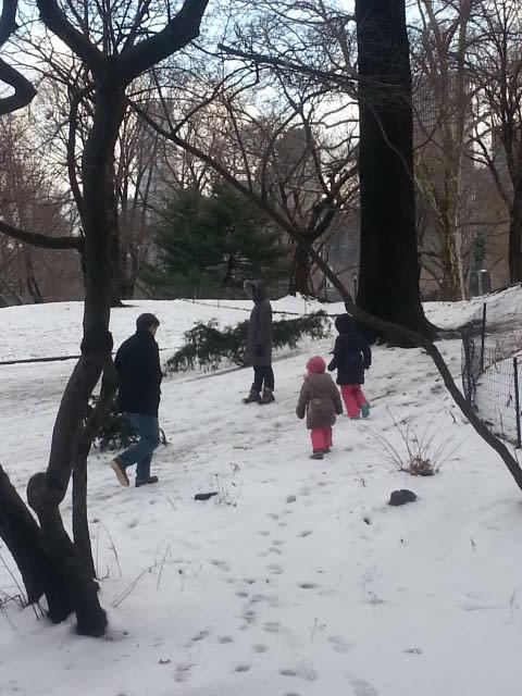 雪の日のマンハッタンお散歩 その1
