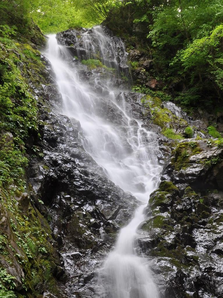 大曲滝上段