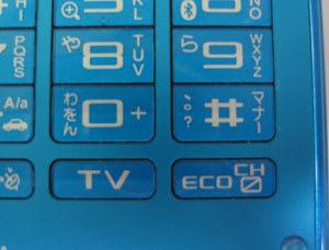 右下にあるEcoモードボタン