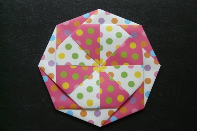簡単 折り紙:折り紙 コースター 簡単-blog.goo.ne.jp