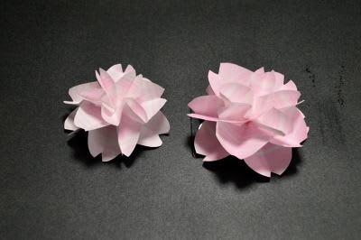 花 折り紙 桃の花 折り紙 : studental.net