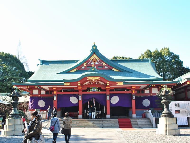 01月24日 山王神社本殿