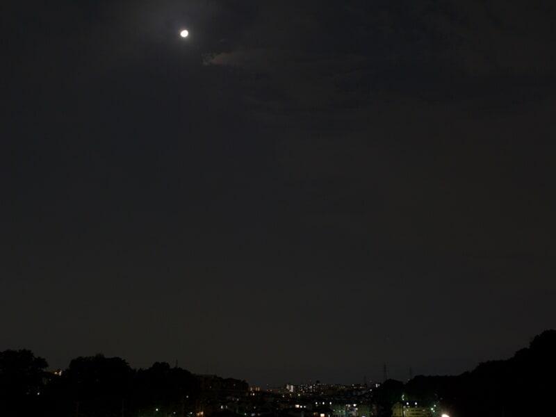 10月12日 夜景