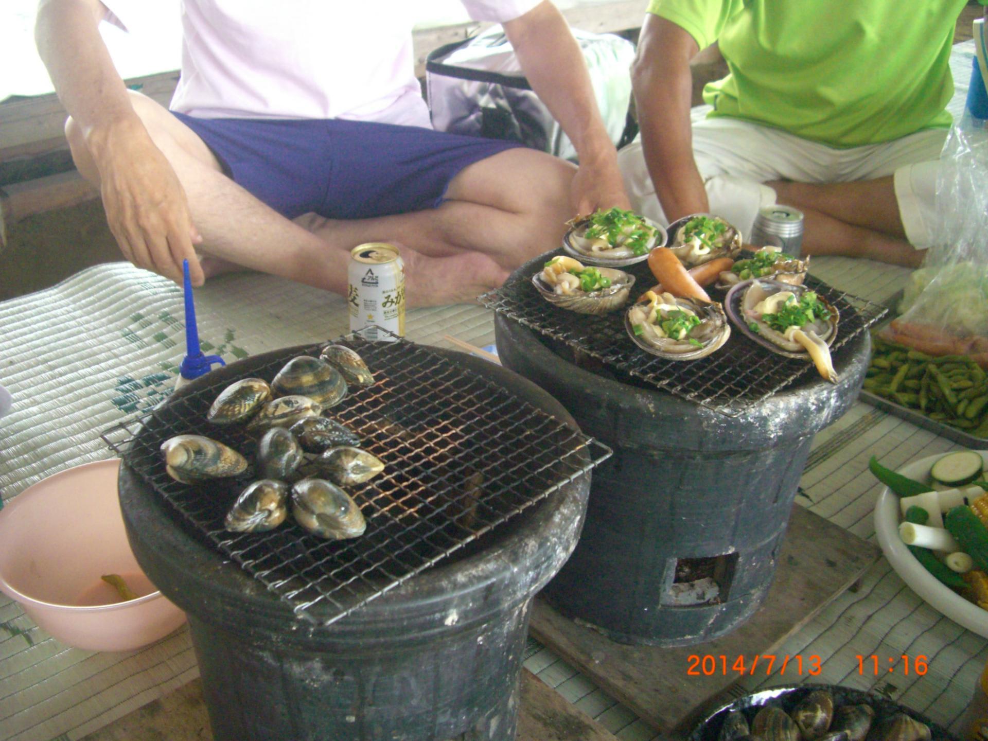 三重県五主海岸で潮干狩り | とと屋で生まれた「き …