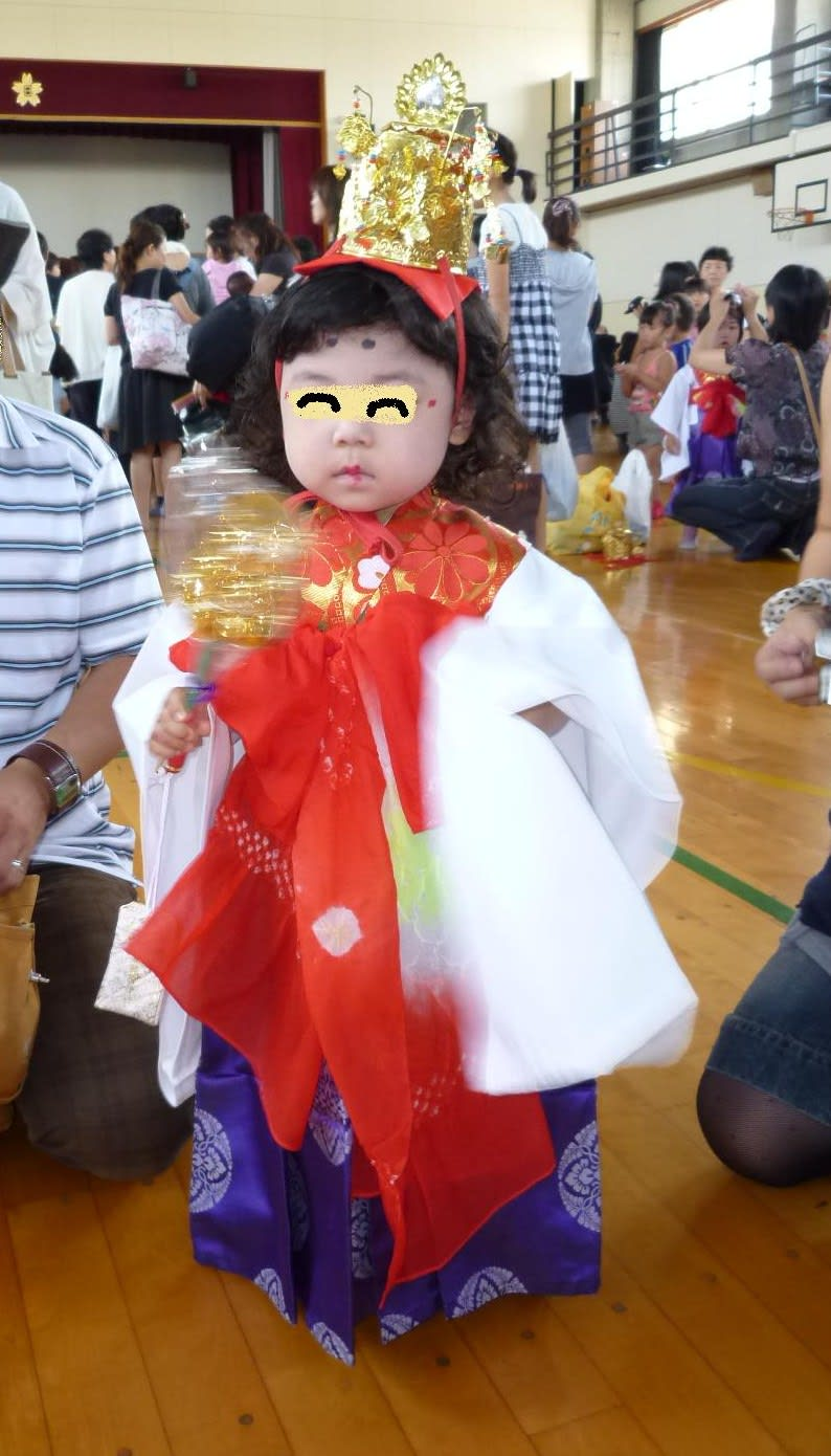 お稚児さんの画像