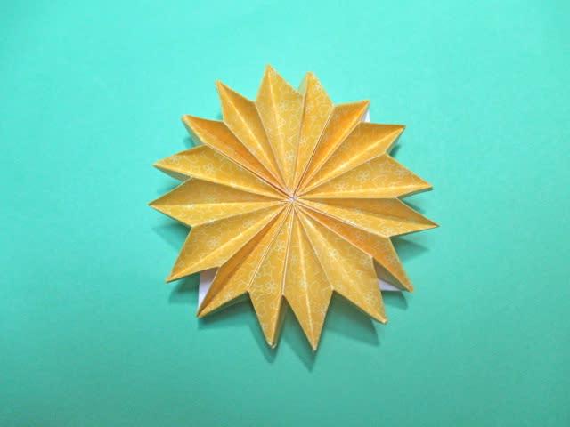 ハート 折り紙 折り紙 菊 折り方 : blog.goo.ne.jp