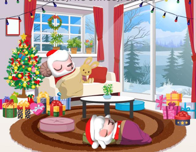 クリスマスも2時の虹